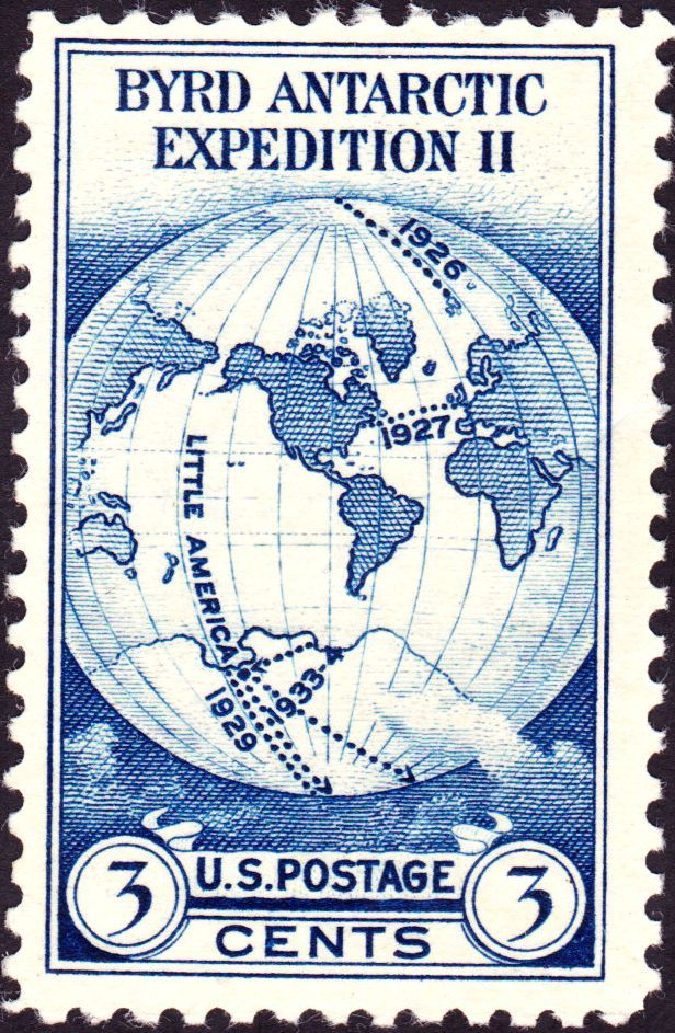 Admiral Byrd Antarctic Expedition 1933 Issue-3c - Richard E. Byrd - Wikipedia, the free encyclopedia
