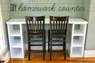 """That's My Letter: """"H"""" is for Homework Counter"""