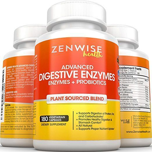 Order on Amazon Today =>> Digestive Enzymes by Zenwise Health Digestive Enzymes by Zenwise Health is rated as 4.4 of 5 on Amazon with over 1,930 customer reviews. This Digestive Enzyme special plant-based blend is ideal for men and women who suffer from gastrointestinal complications including irritable bowel syndrome and diarrhea.   #Digestive Enzymes by Zenwise Health #bestprobioticsforibsproducts