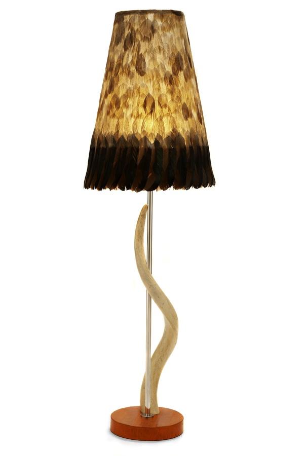 Egyptian goose cone shade egyptiantable lampmangoafricanlamps sleevelightbulbslight fixtureslights