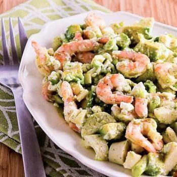 Lemony Shrimp Salad With Avocado, Heart Of Palm