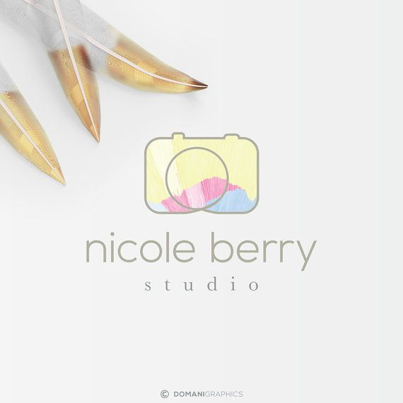 Pre Made Logo Design Photography Logo by domanigraphics on Etsy