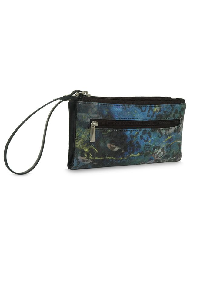 MP Flirty Bindas Black - A multi pocket black pouch by Baggit