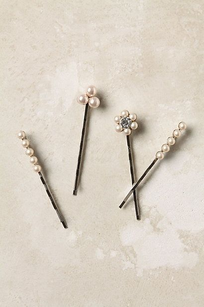 Glue Broken Earring Pieces Onto Bobby Pins To Dress Them Up Using Industrial Strength E-6000 Glue DIY