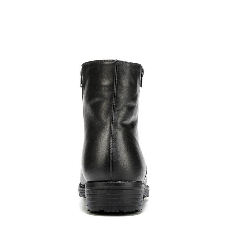 Propet Men's Troy Medium/X-Wide/XX-Wide Side Zip Boots (Black Leather)