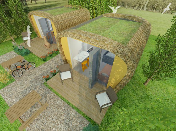 Eco pod design uk one of the most affordable prefab for Bathroom e pod mara