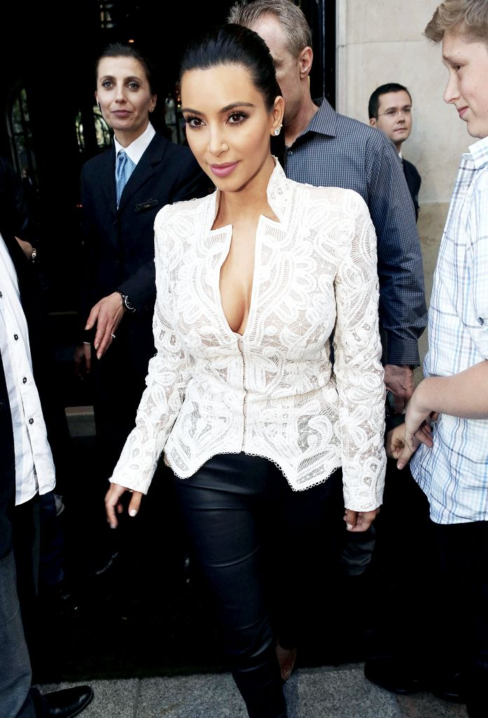 Kim Kardashian. I don't care what anyone's says I think she's gorgeous!