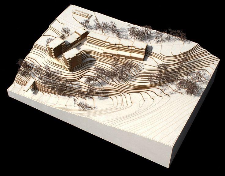 maquette d 39 architecture logements la savine tangram architectes dimensions 36 x 53 cm. Black Bedroom Furniture Sets. Home Design Ideas
