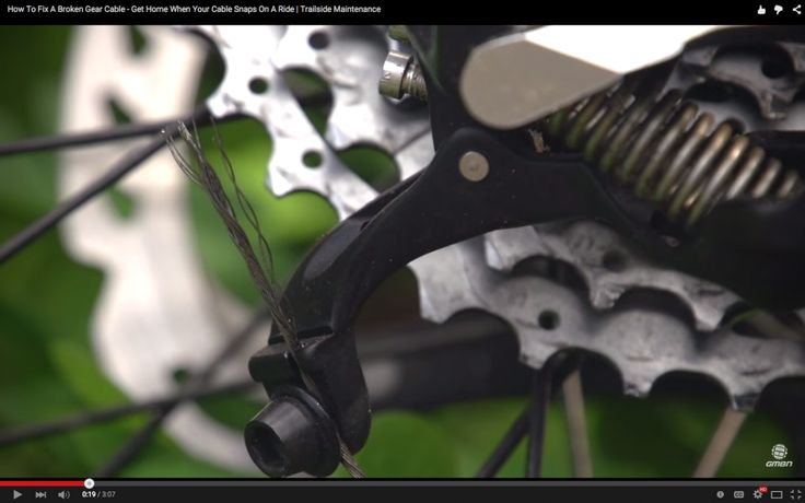 Video: How To Deal With a Broken Shifter Cable // Get Home When Your Cable Snaps On A Ride | Singletracks Mountain Bike News