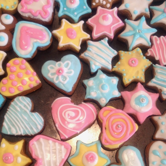 Assorted cookies made by Debbi Weiss