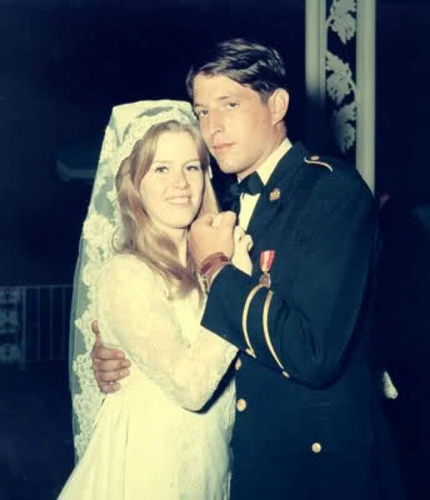Al and Tipper Gore's wedding day, May 19, 1970