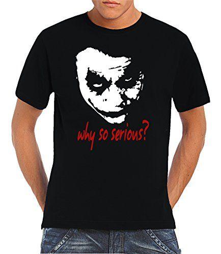 http://www.amazon.de/gp/product/B008VA1O5G/ref=as_li_tl?ie=UTF8&camp=1638&creative=19454&creativeASIN=B008VA1O5G&linkCode=as2&tag=motherboard-ranking-21  Touchlines Herren T-shirt Joker - Why So Serious?, black, M, B1823-Black-M  #filmshirt #movieshirt #batman #batmanandrobin #joker #thejoker #badguy #badass #serious #whysoserious #guyshirt #menshirt #tshirt #coolshirt