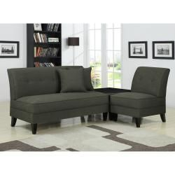 @Overstock - The Engle 3 piece transitional grouping is part of the Portfolio Furniture Collection. The Engle collection includes an armless loveseat, chair and an ottoman all covered in a charcoal gray linen and features a no tools locking system for easy assembly.http://www.overstock.com/Home-Garden/Portfolio-Engle-Charcoal-Gray-Linen-3-piece-Sofa-Set/6530436/product.html?CID=214117 $729.99