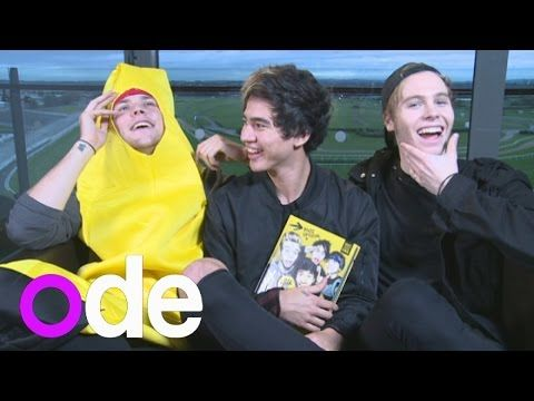 5SOS INTERVIEW: Boys on new book, getting naked, their fans and an Aussie Christmas