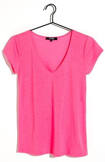 Seje 77thFLEA T-shirt Lola Neonrosa 77thFLEA Overdele til Dame i fantastisk kvalitet