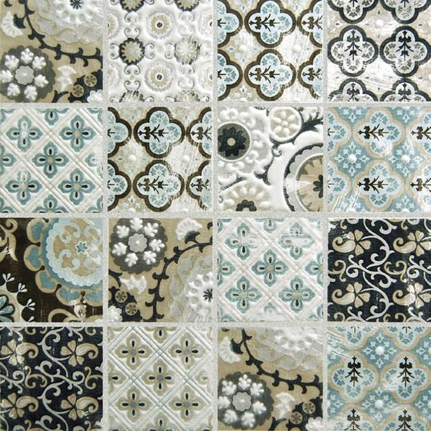 Patchwork Tile Designs Beautiful Bathroom And Kitchen Backsplash Ideas