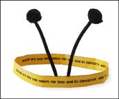 Bee headband with Bible Verse for Beatitude Lessons from www.daniellesplace.com