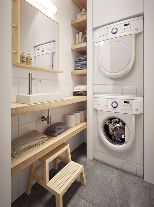 Las 25 mejores ideas sobre cuartos de lavado en pinterest - Lavado y planchado ...