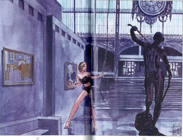 Manara Maestro dell'Eros-Vol. 23, Manara e il teatro-122, 123