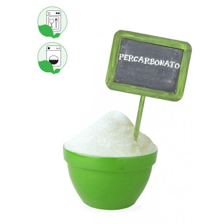 Percarbonato di sodio, un'alternativa super ecologica alla candeggina (e a molto altro!)