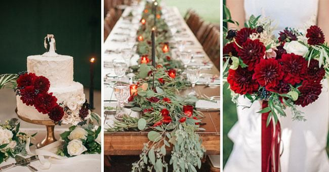 Bet you're about to fall (big time) for this gorgeous dahlia-filled celebration! http://buff.ly/1BQ8Wyr