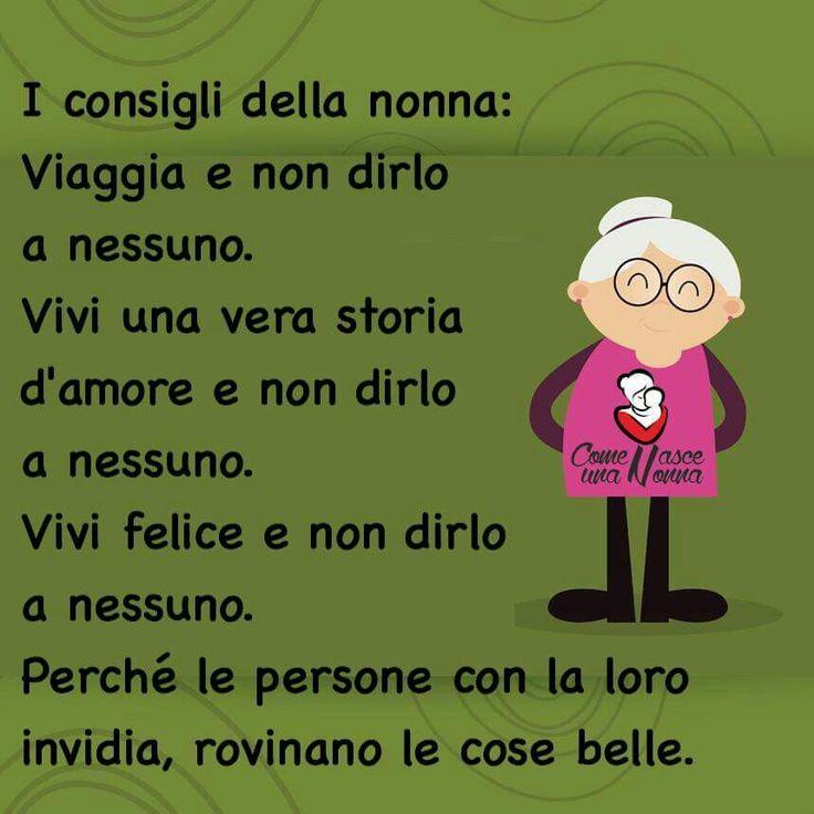 i consigli Dell nonna