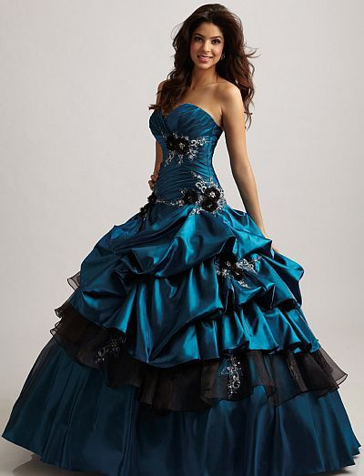 cute dark blue dresses for prom | Perfectly Pick Up Embroidery Navy Blue Dresses for Quinceanera on sale ...