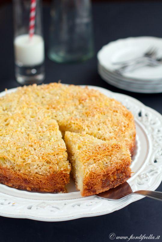 torta tagliatelle