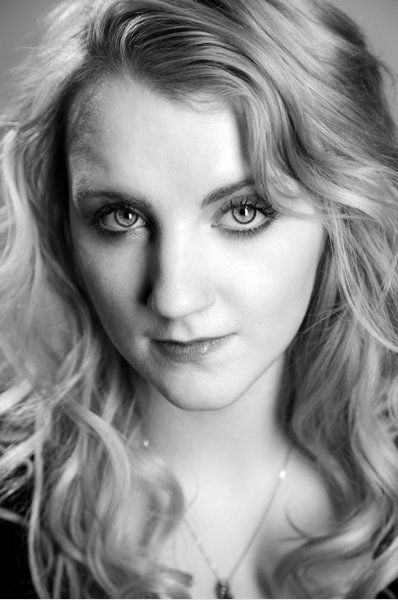 Evanna Lynch - The perfect Luna. She has the most amazing personality and started out as a regular fan of Harry Potter. Now she is famous and does several projects. Dis I mention she is beautiful and pulls of red just as well as blonde?
