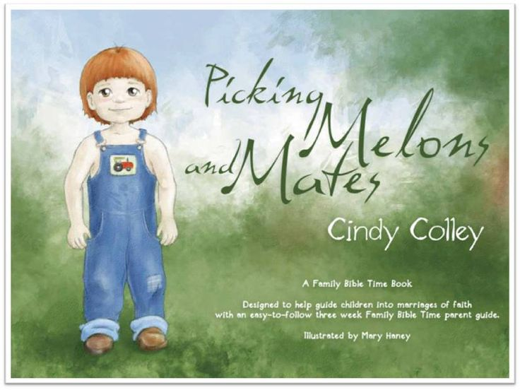 A book for young boys by one of my favorite authors, Cindy Colley. It is never too early to start teaching our little men about the importance of Christ in their relationships!