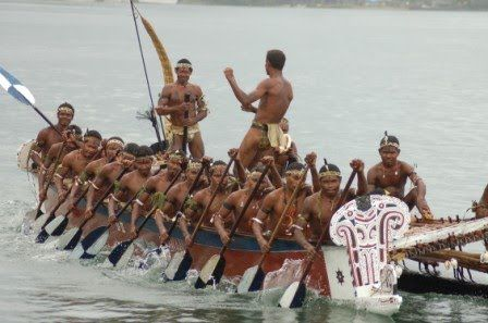Kenu, or 'war canoe' and the inherited Kundu or 'traditional drums' are integral artefacts in the everyday lives of the people of Milne Bay. http://www.blog.pagahill.com/#!Hello-Alotau/c2o6/563c50580cf23796cd8f8796