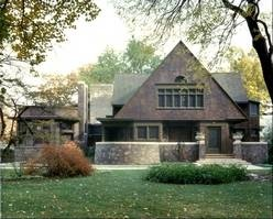 Frank Lloyd Wright right at home in Oak Park