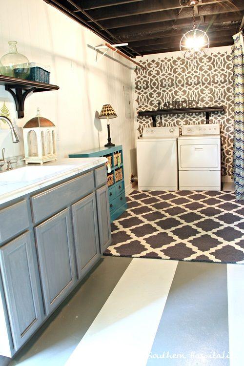 1000 Ideas About Unfinished Basement Laundry On Pinterest Basement Laundry