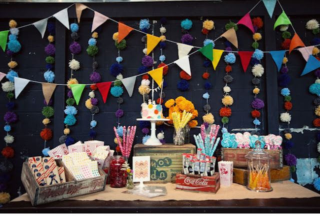 Tuesday Tip/Fiesta Friday - Elements Of Design In Party Decor