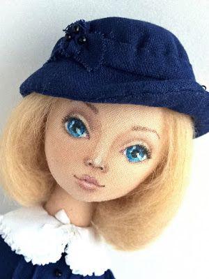 Блог Мои любимые игрушки. Анна Балябина, авторские куклы и игрушки: Мэри Поппинс. Как я шила эту куклу