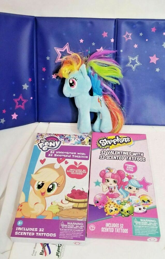 My Little Pony Rainbow Dash Twilight Sparkle Toy Unicorn Scented Sticker Shopkin Buildabearworkshop Alloccasion In 2020 Unicorn Toys My Little Pony Rainbow Dash