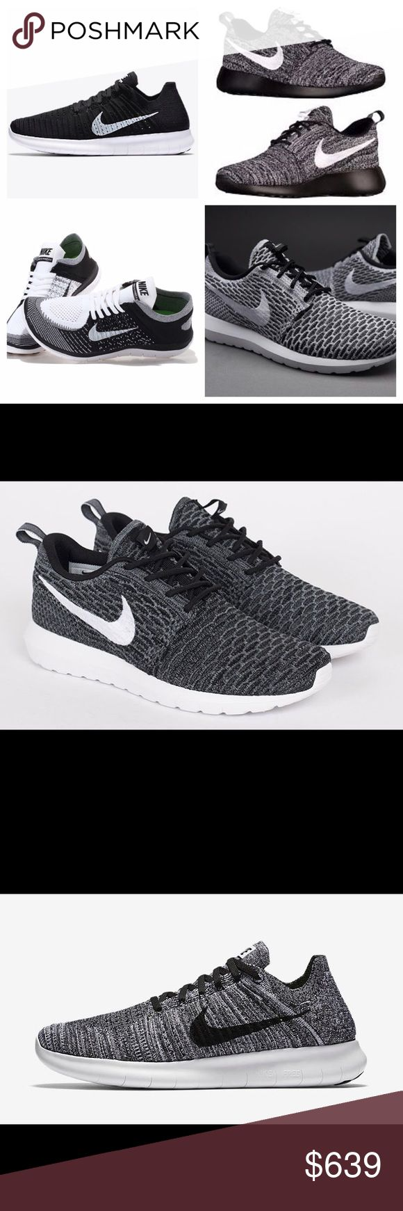 Nike Flyknit ISO's I'm currently looking for any of these Nike's in size 7 for the Roshe Flyknits and size 7.5 for the Oreo Flyknits and the RN Flyknits! Any help finding any of these would be appreciated! Nike Shoes Athletic Shoes