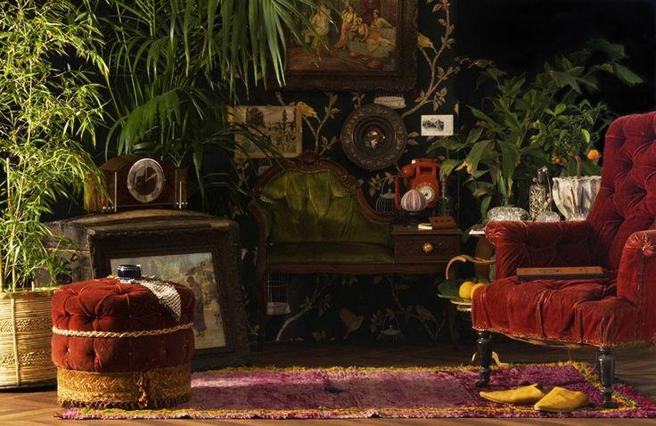 1000 id es sur le th me mobilier marocain sur pinterest tissu marocain d co marocaine et meubles. Black Bedroom Furniture Sets. Home Design Ideas