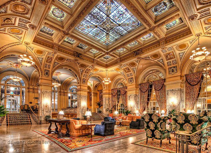The Hermitage Hotel In Nashville Is Truly Beautiful Http Www Jetradar