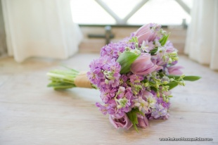 Soft Tulip Bridal Bouquet by The French Bouquet Tulsa Oklahoma Florist - Zinke Design - Candi Coffman Photography