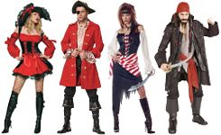 group halloween costumes  Pirates just never get old for me....