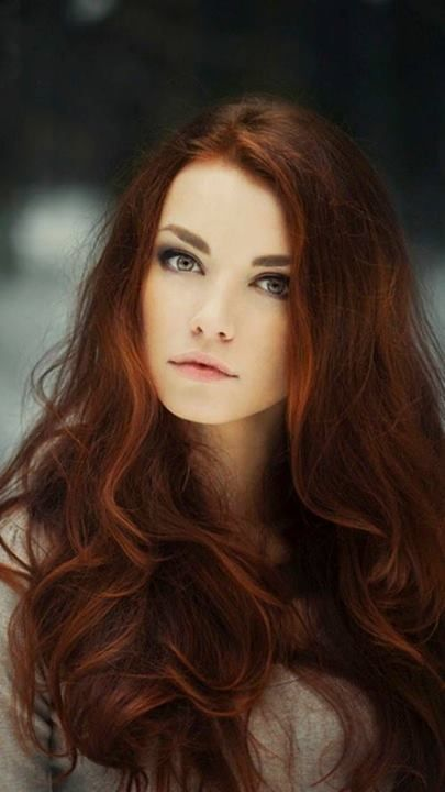 Beautiful red hair