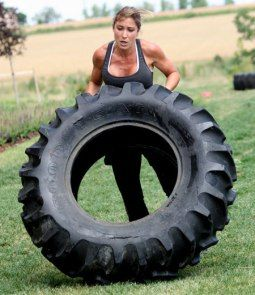 My bootcamp is starting on Wed. I'll be doing a lot of tire flipping with the participants.