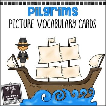Help your students visualize important social studies vocabulary terms with Picture It! vocabulary cards! These Pilgrim-themed cards are designed to address the wide variety of ability levels, language comprehension skills, written comprehension skills, and curriculum objectives that special education teachers in multi-age classrooms need to address.