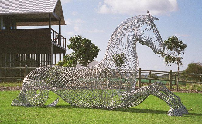 Equus Aqua - Andy Scott sculpture