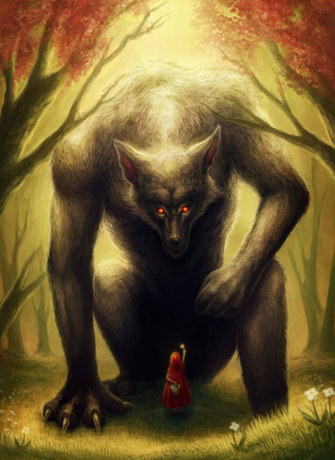 And the big bad wolf.