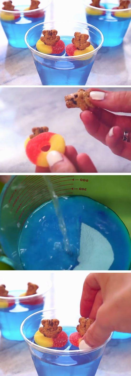 Teddies in The Pool | DIY Pool Party Ideas for Teens