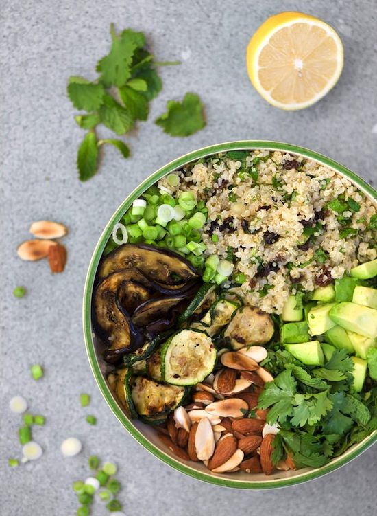 Moroccan Quinoa Salad #recipe #glutenfree #veganrecipe