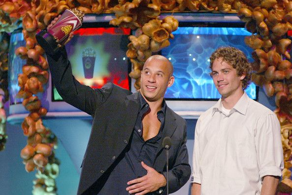 The 2003 Teen Choice Award for Choice Movie Chemistry went to Paul Wlalker and his car — from 2 Fast 2 Furious. He won Best On-Screen Team at the MTV Movie Awards in 2002 with Fast and the Furious co-star Vin Diesel.