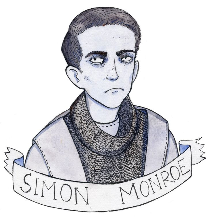 slightly unmotivated but clever - in the flesh has the loveliest characters | Simon Monroe